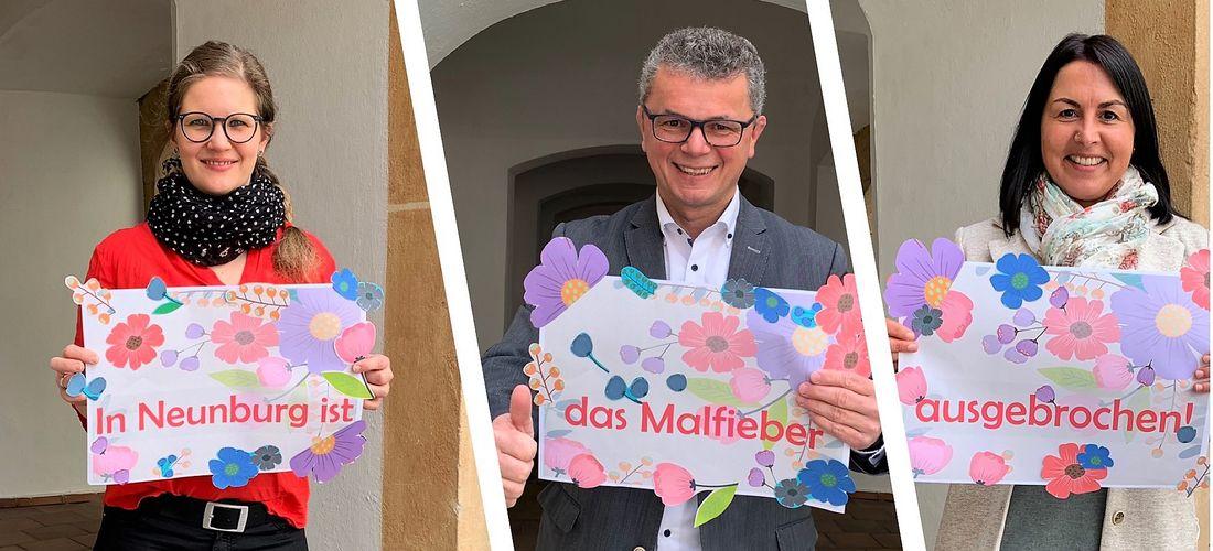 "Malwettbewerb ""Neunburg vorm Wald im Frühling"""